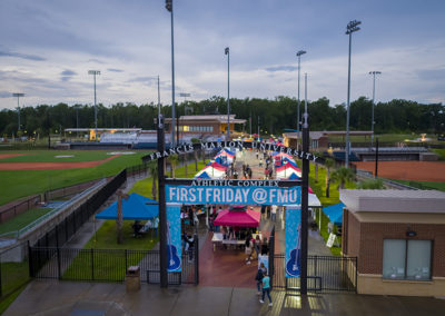 The first Friday celebration is the highlight of Welcome Week events.